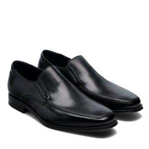 MAGNANNI MADRID BLACK men's slip on loafer